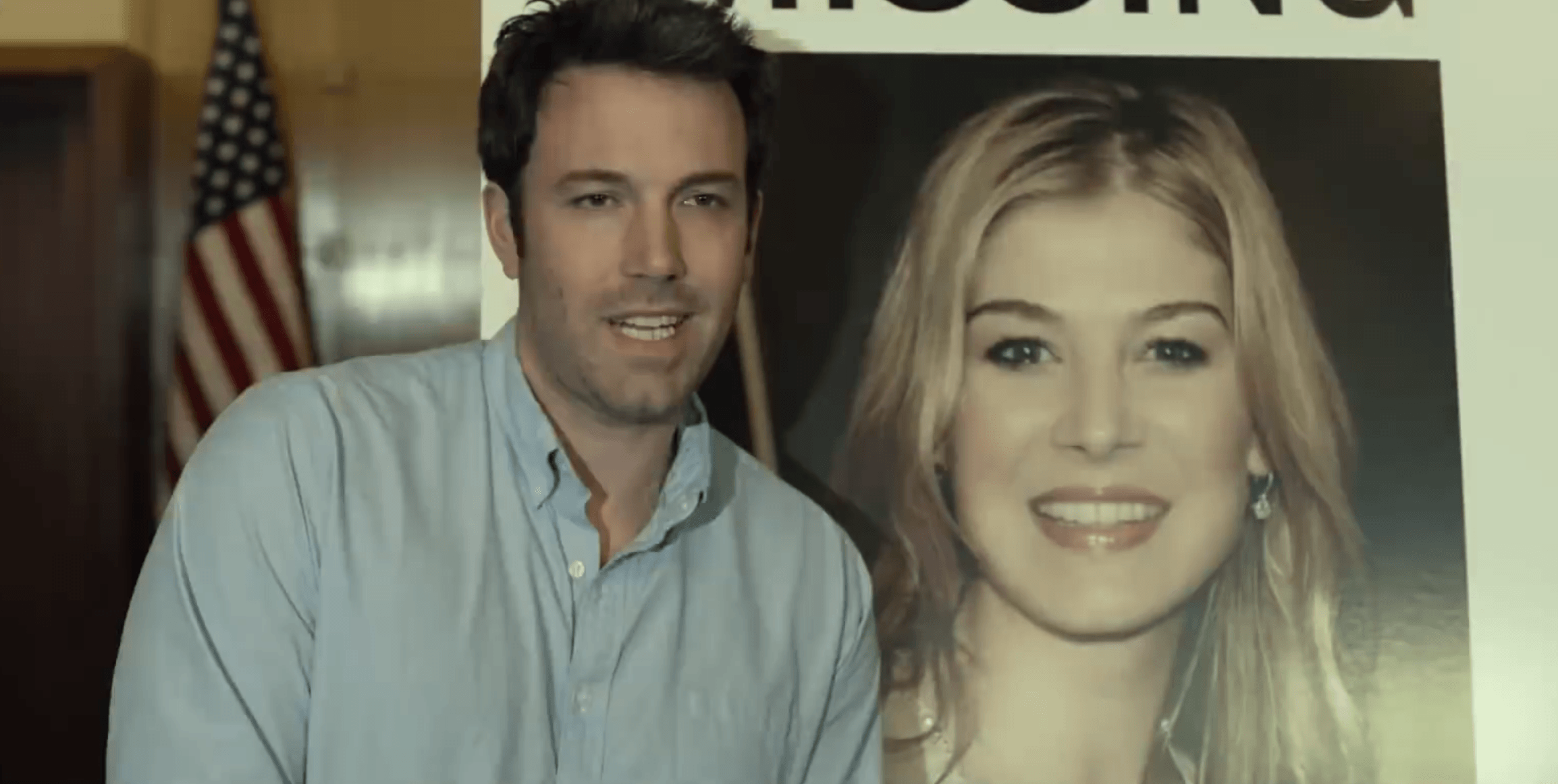 If this smile is anything to go by... (Picture courtesy of 20th Century Fox/ Gone Girl trailer)