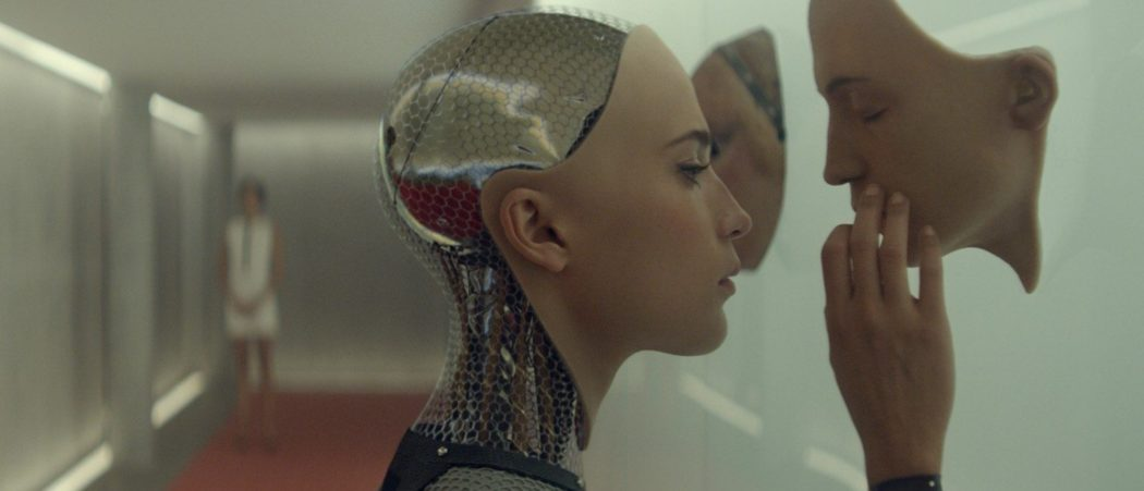 Alicia Vikander in Alex Garland's Ex Machina