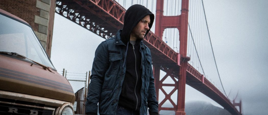 Paul Rudd in the very first Ant-Man movie