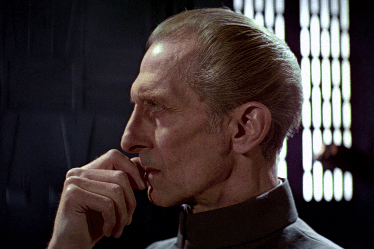 Grand Moff Tarkin Darth Vader A New Hope