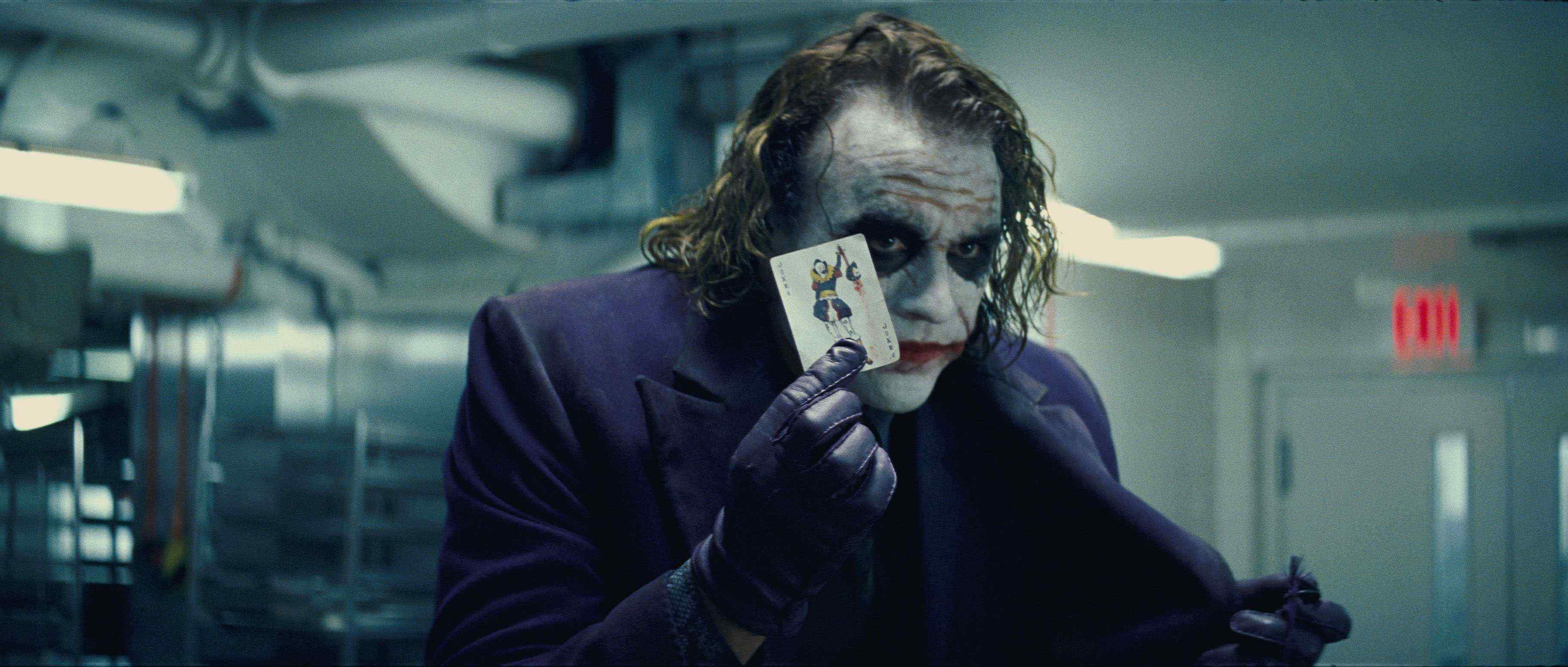 Heath Ledger batman Joker The Dark Knight