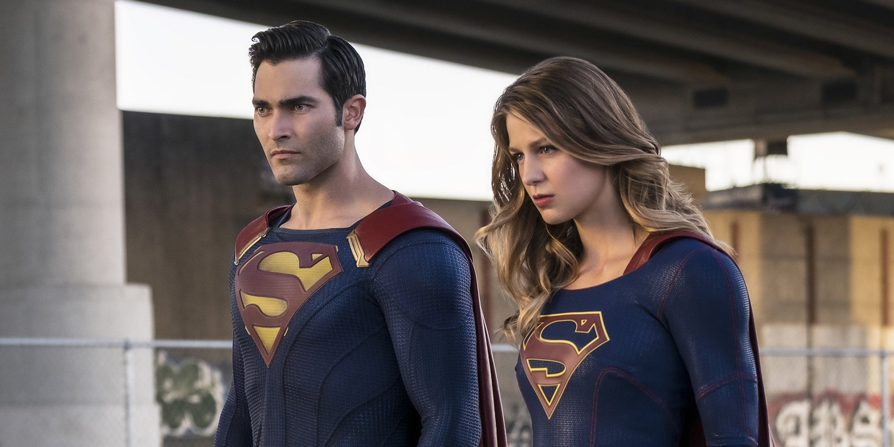 Who ever thought we'd see the man and girl of steel together?