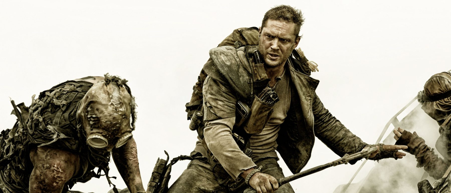 Tom Hardy as Mad Max in Mad Max: Fury Road