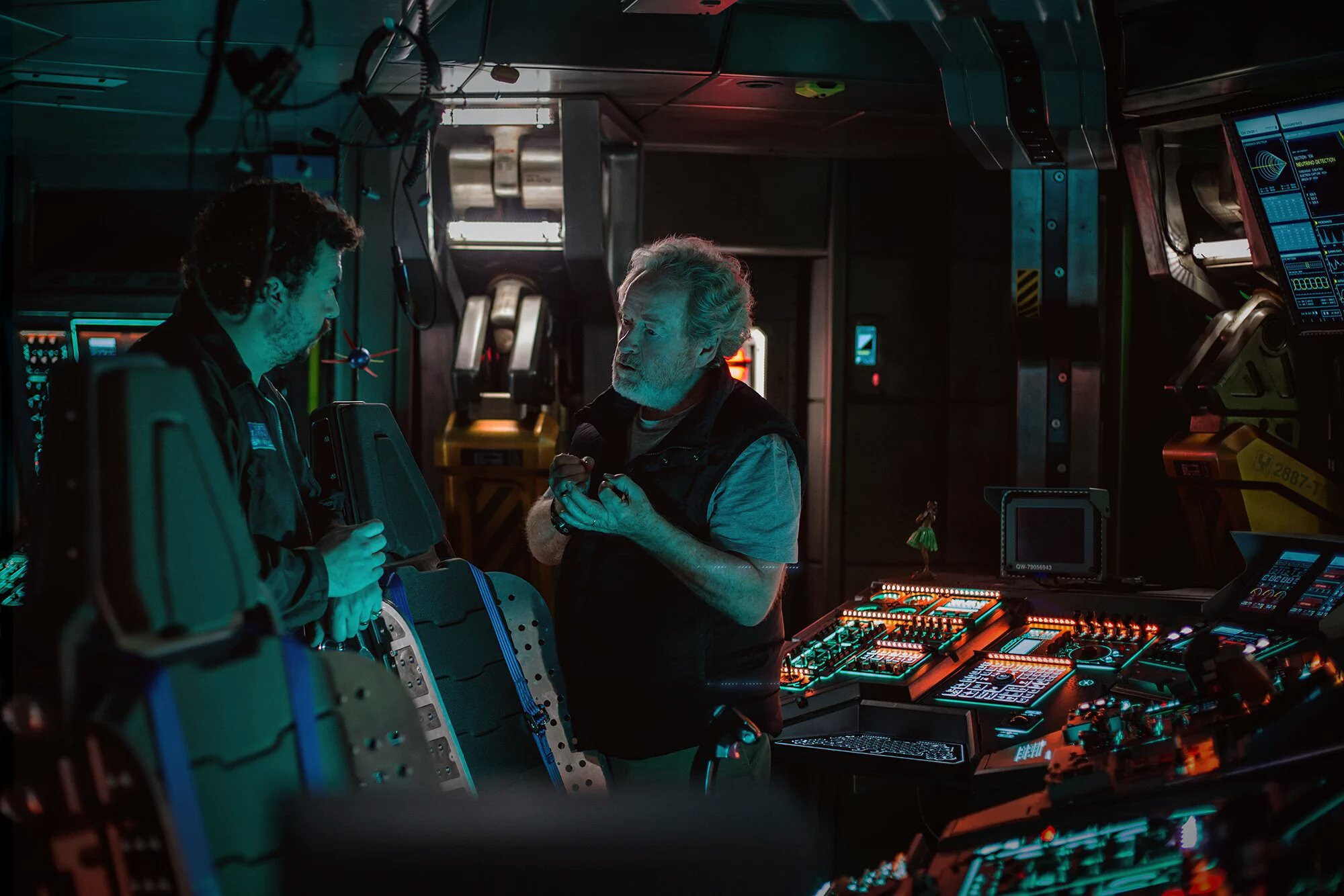 Ridley Scott Alien Covenant Danny McBride