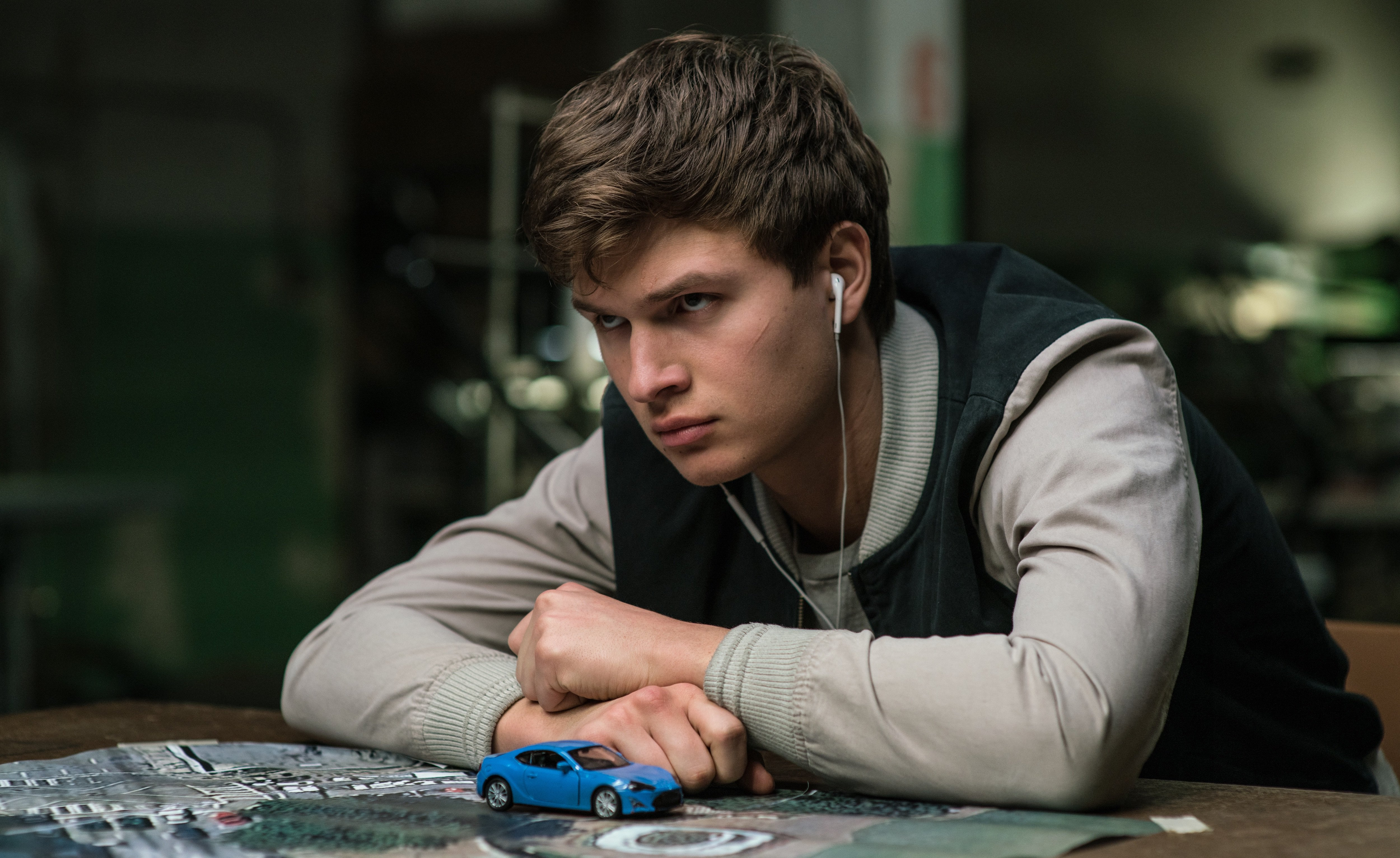 Ansel Elgort as Baby Driver