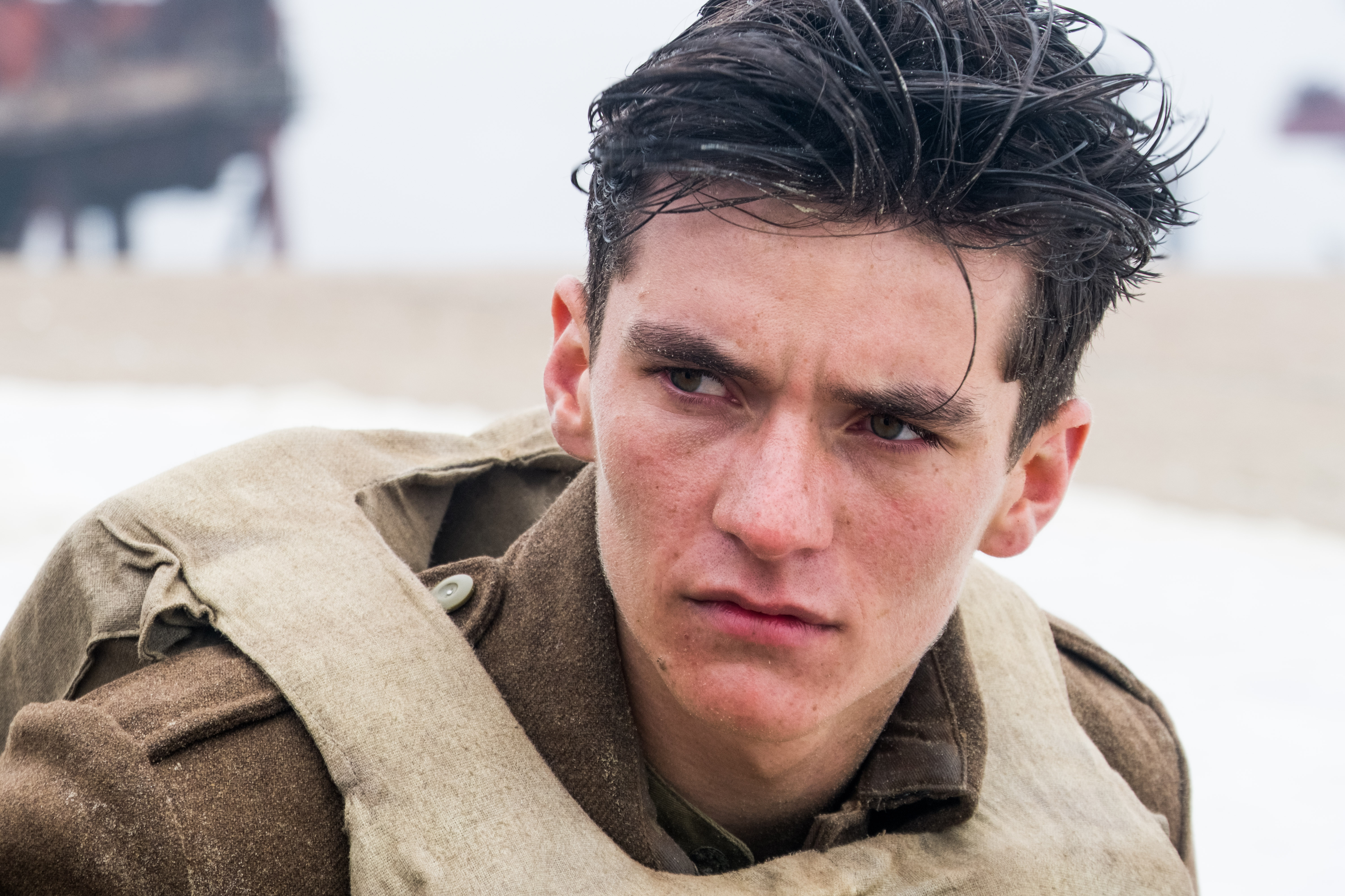 Fionn Whitehead stars as Tommy in Dunkirk.