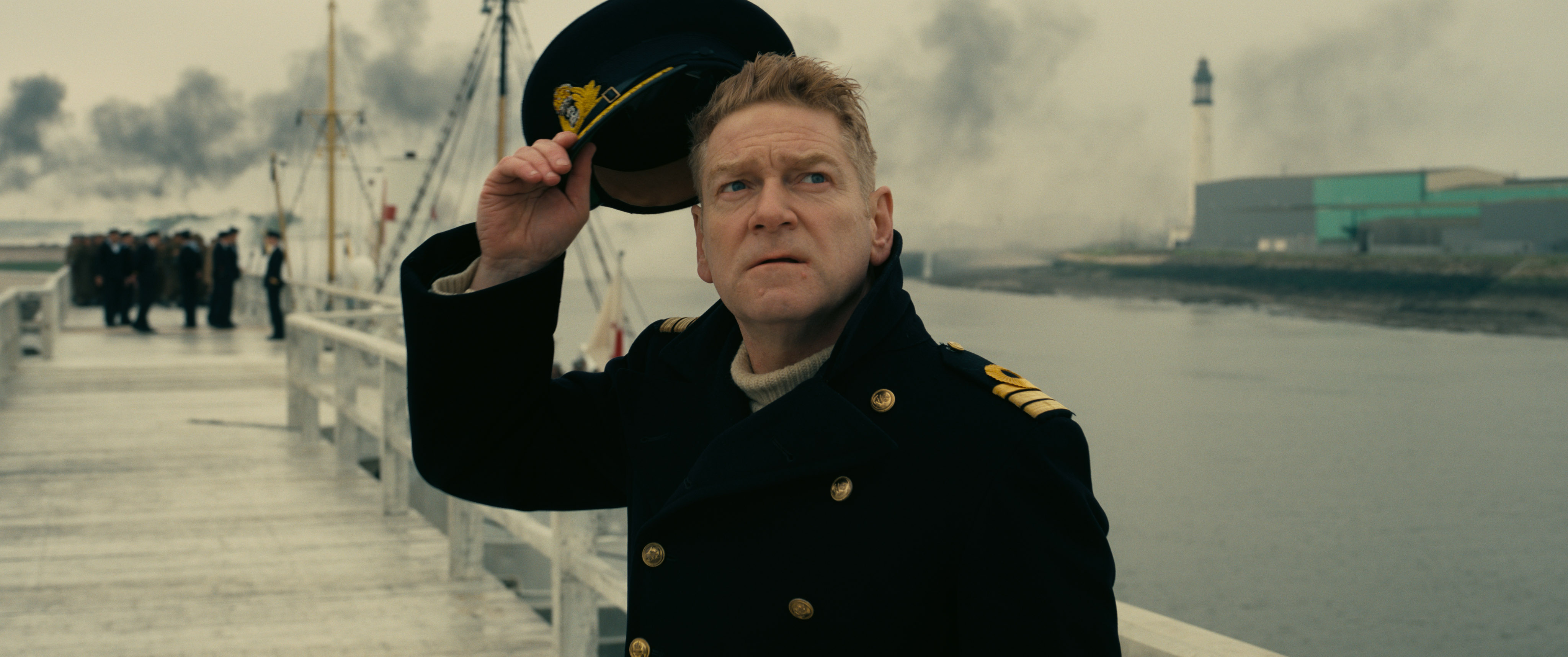Kenneth Branagh wants to get everybody off that beach in Dunkirk!
