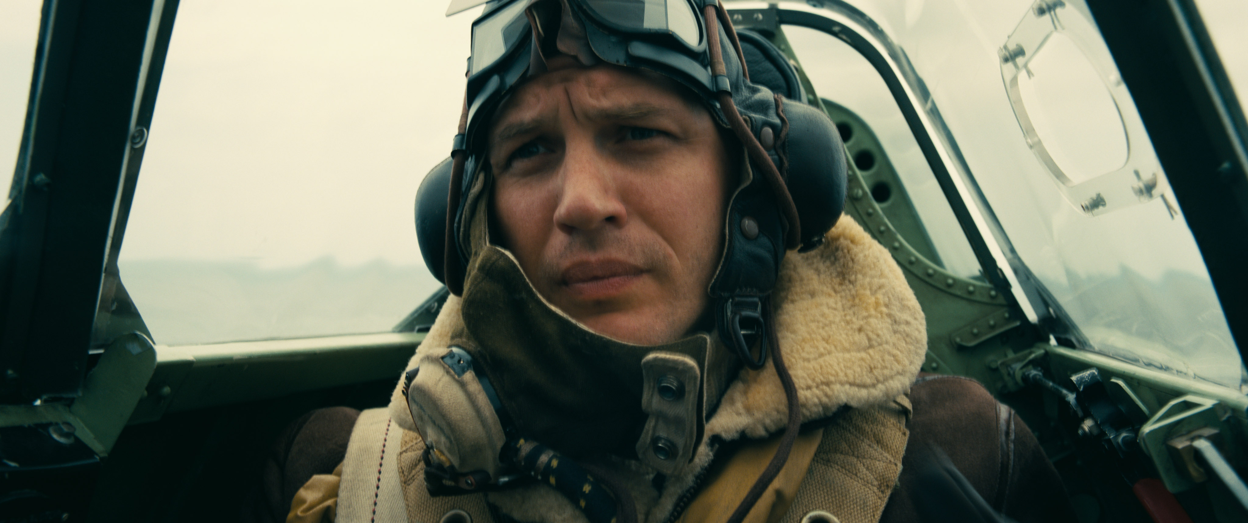 Tom Hardy delivers yet another incredible eye performance in Dunkirk