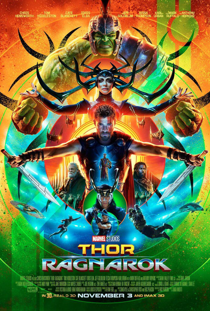 Thor: Ragnarok's poster is out of this world!