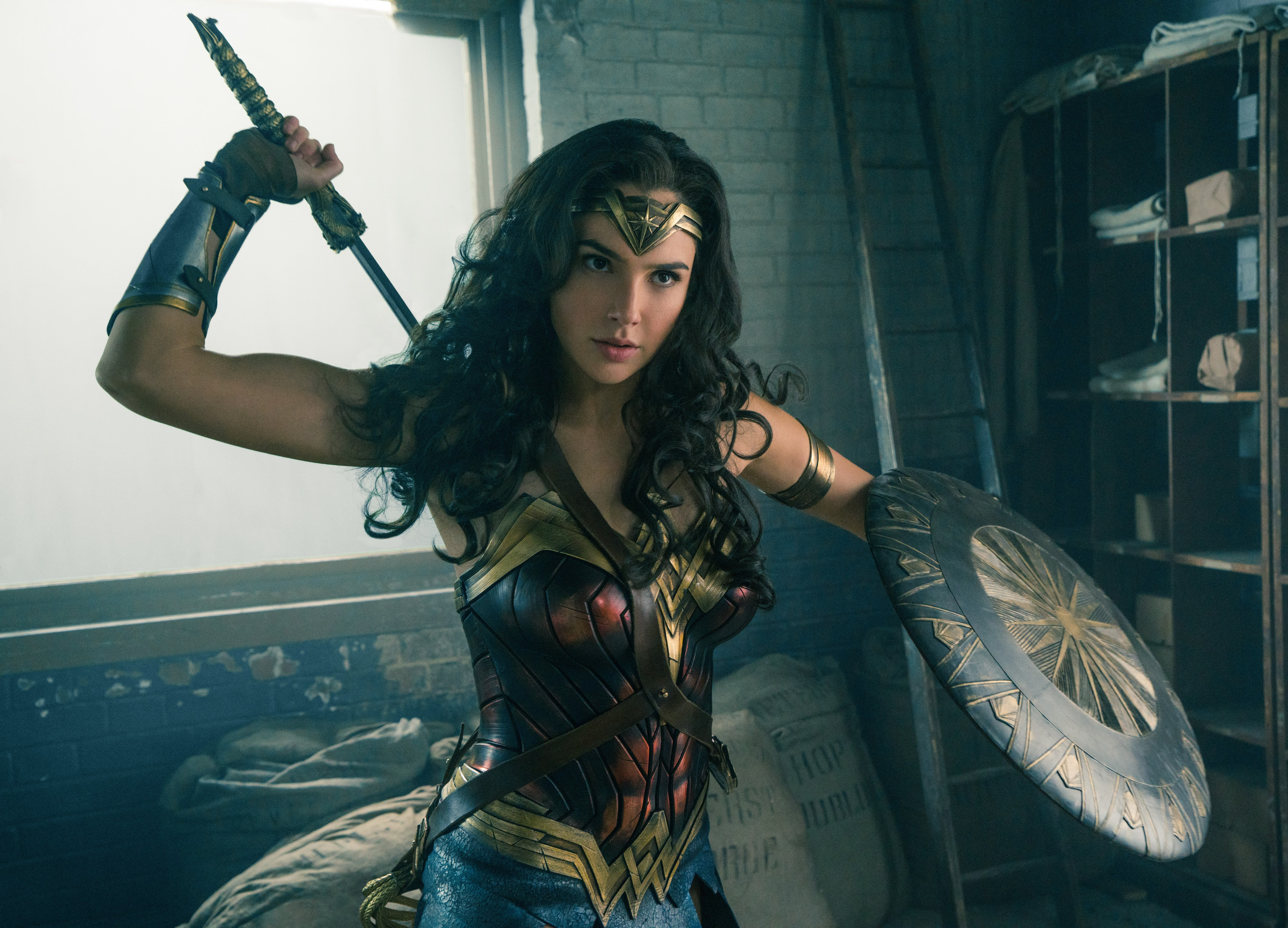 Wonder Woman is ready to kick the Academy's butt!