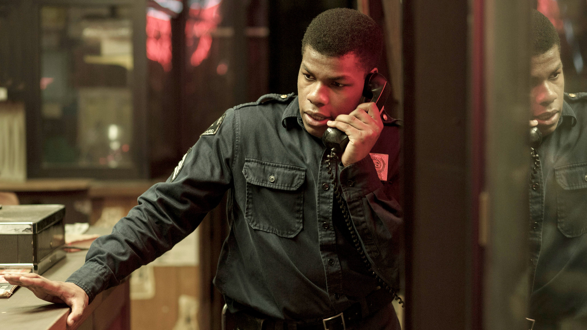 John Boyega as Melvin Dismukes in Detroit