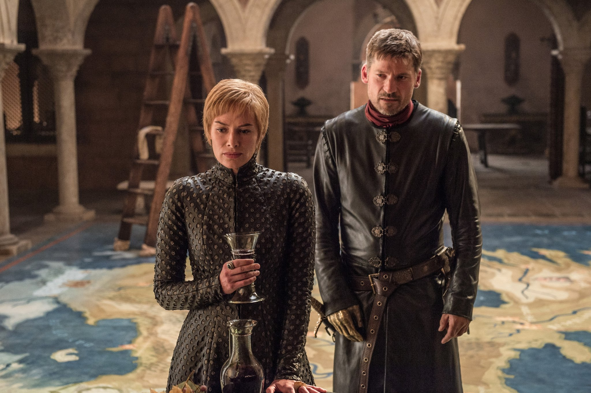 Jamie and Cersei Lannister in Game of Thrones Season 7