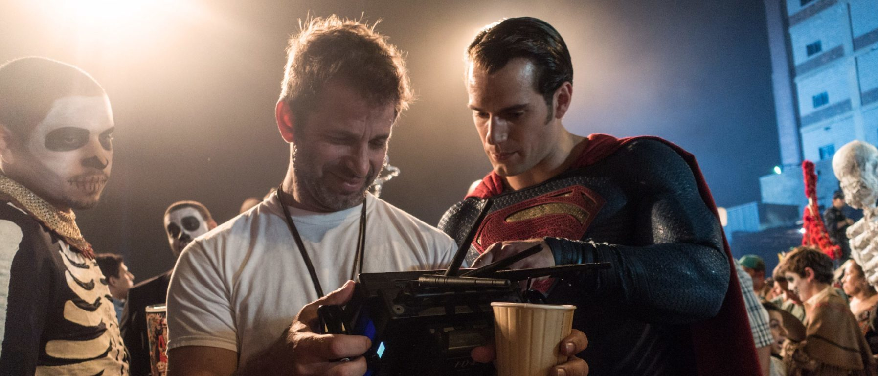 Zack Snyder directing Batman v Superman