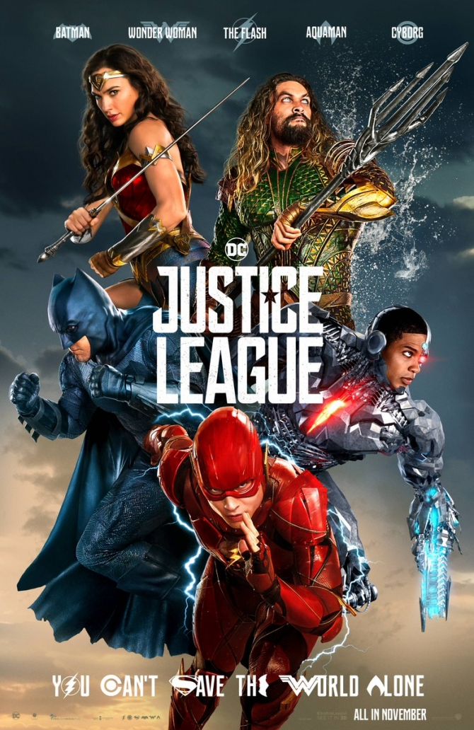 DC Comics' Heroes Are Ready For Battle In Justice League's New Poster