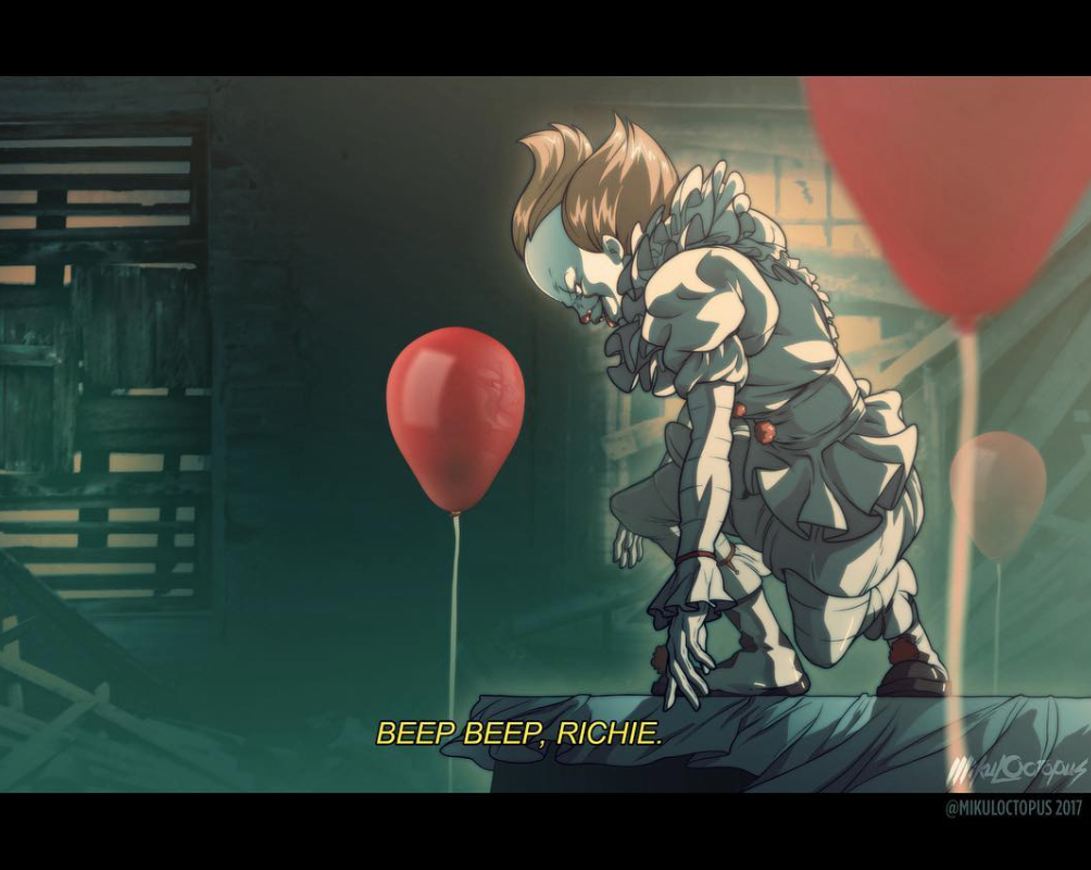 There's Now An Anime Version of IT's Pennywise and it's Awesome 2
