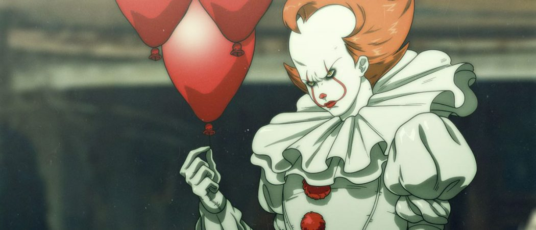 There's Now An Anime Version of IT's Pennywise and it's Awesome 3