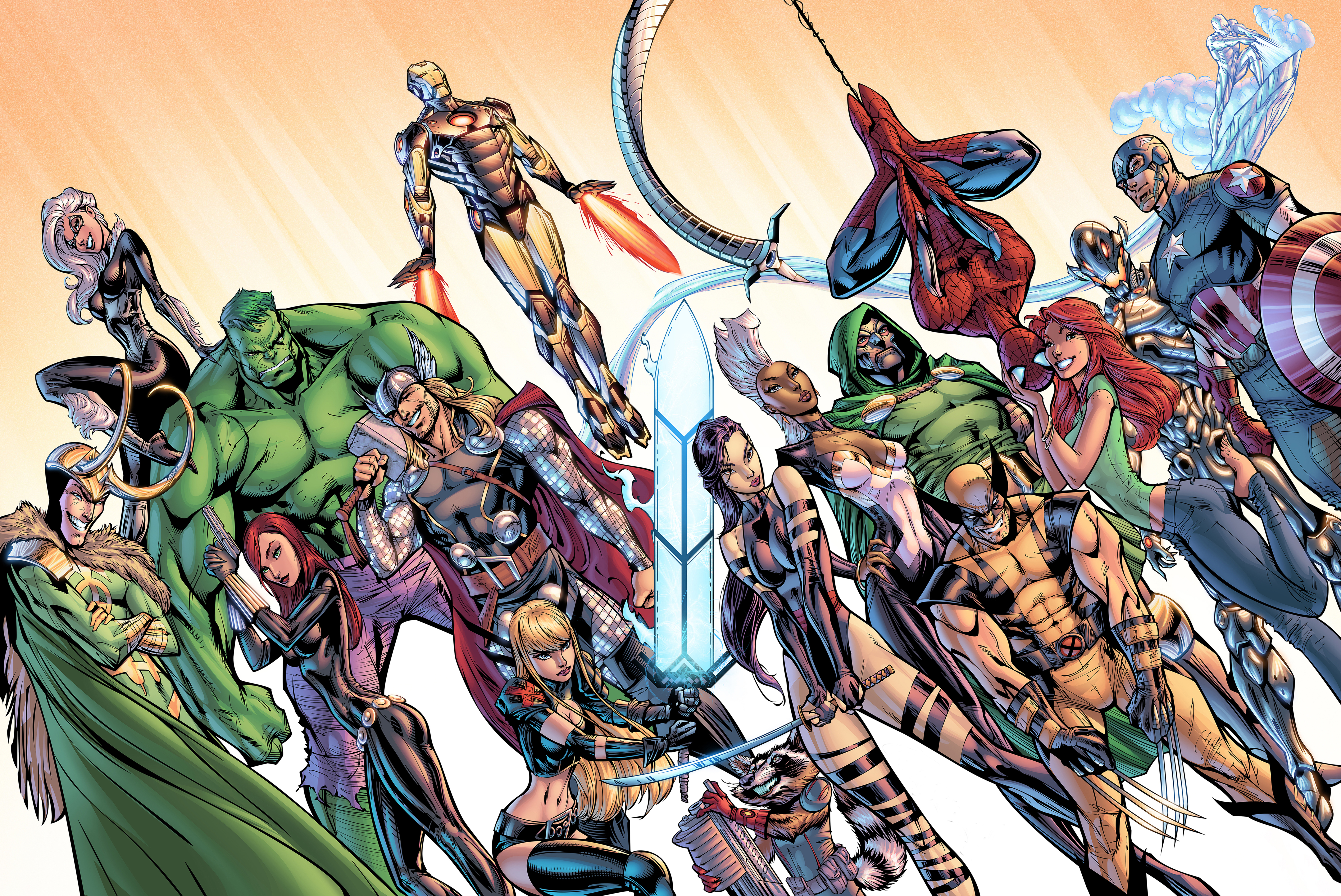 Sony Pictures Is Interested In Buying Fox Which Means We Could See The X-Men Crossover With Spider-Man Characters 1