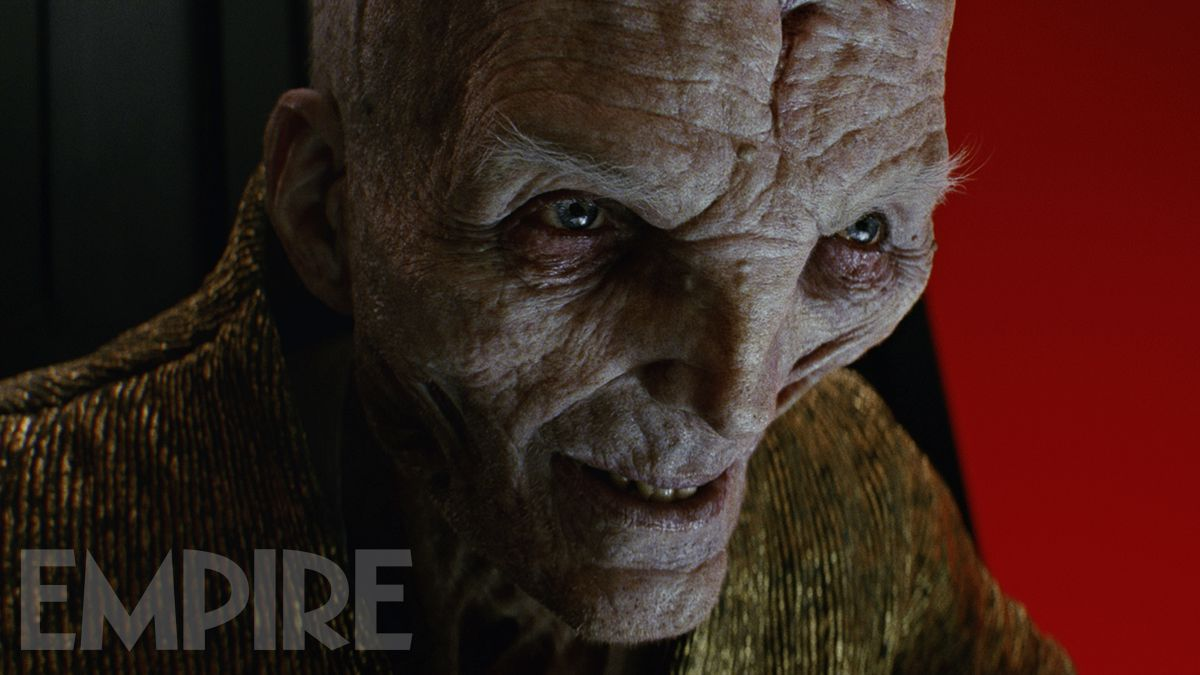 Take A Closer Look At Star Wars: The Last Jedi's Supreme Leader Snoke In This New Image