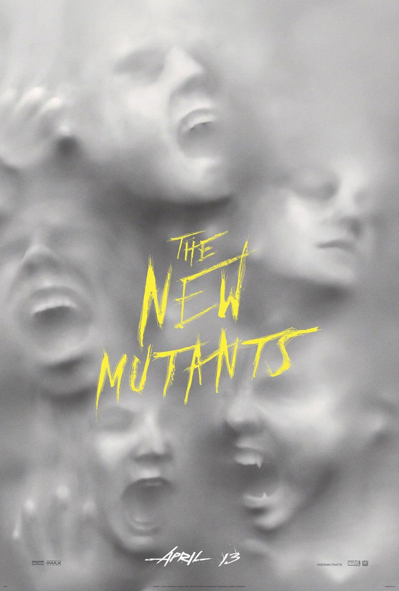 The New Mutants' New Poster Harkens Back To Classic Horror Movies