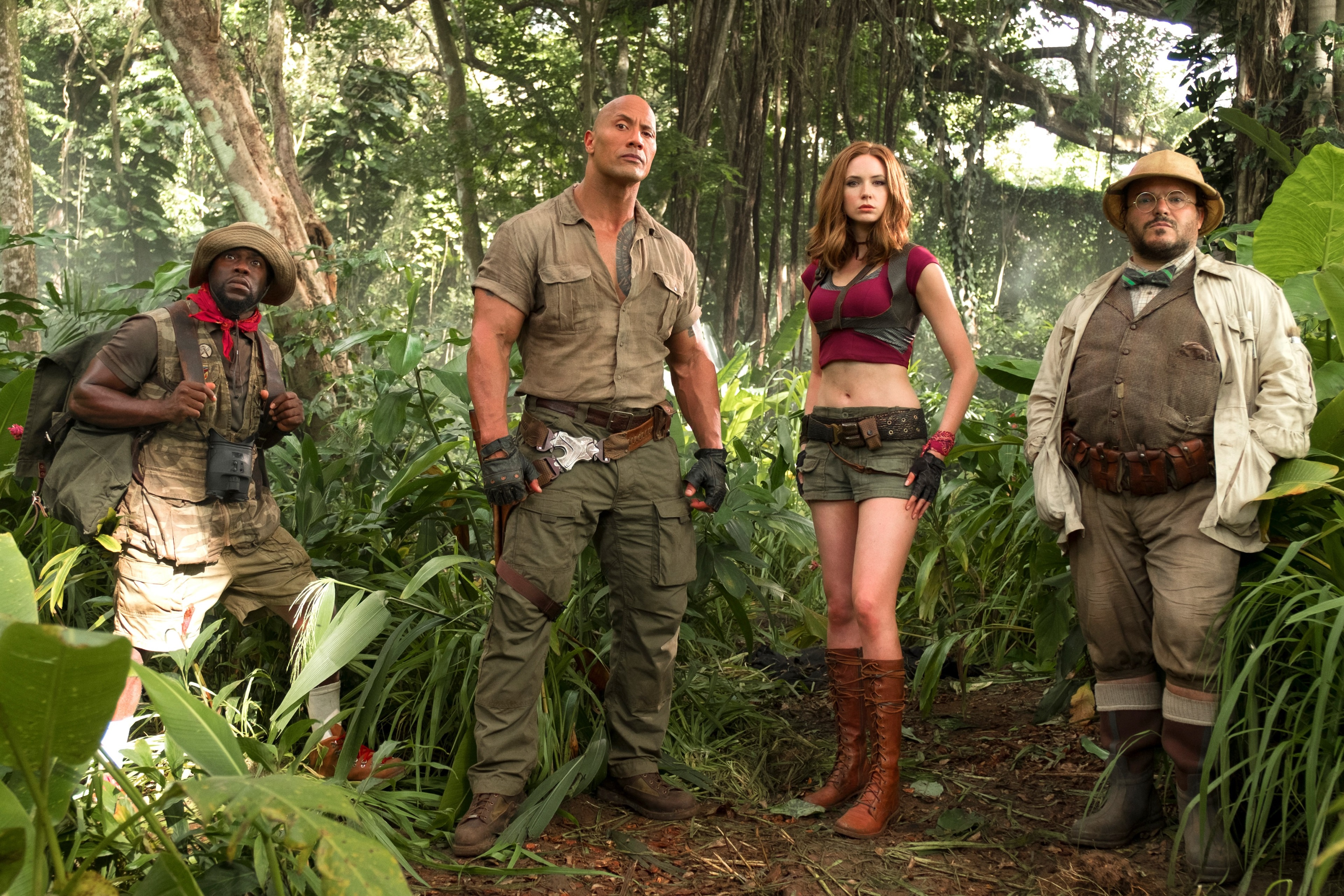 Meet the new Jumanji team
