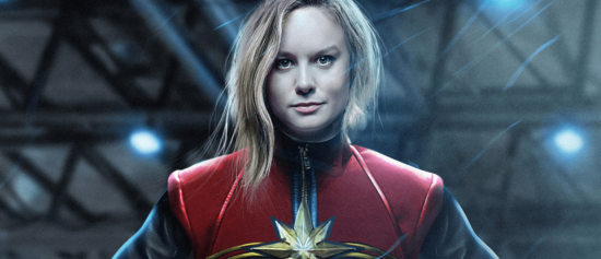Here's Your First Look At Brie Larson All Suited Up In Her Captain Marvel Movie Costume