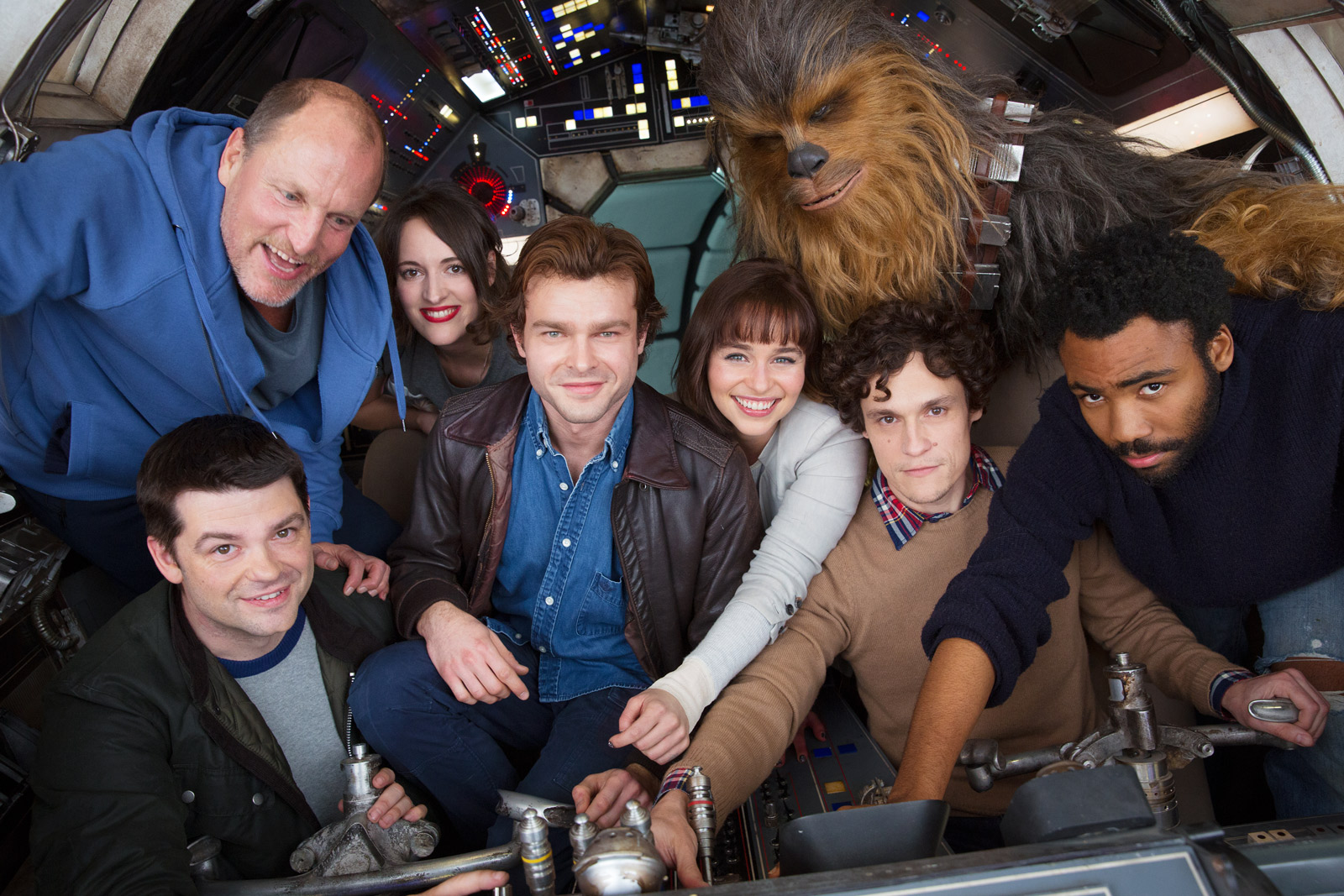 The original cast and directors of Solo: A Star Wars Story