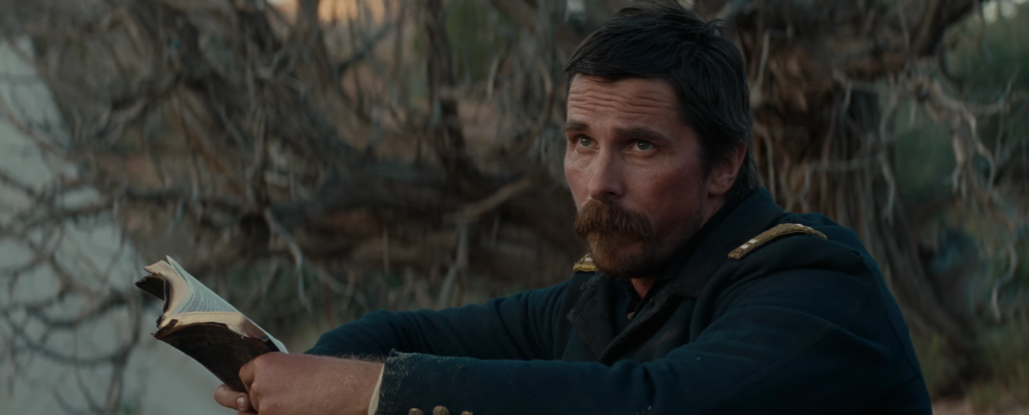 Christian Bale in Scott Cooper's Hostiles