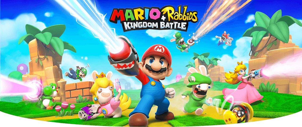 Mario + Rabbids Kingdom Battles was a perfect collaboration
