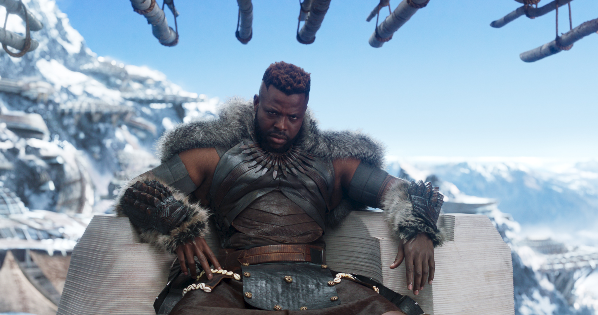 M'Baku (Winston Duke) in Black Panther