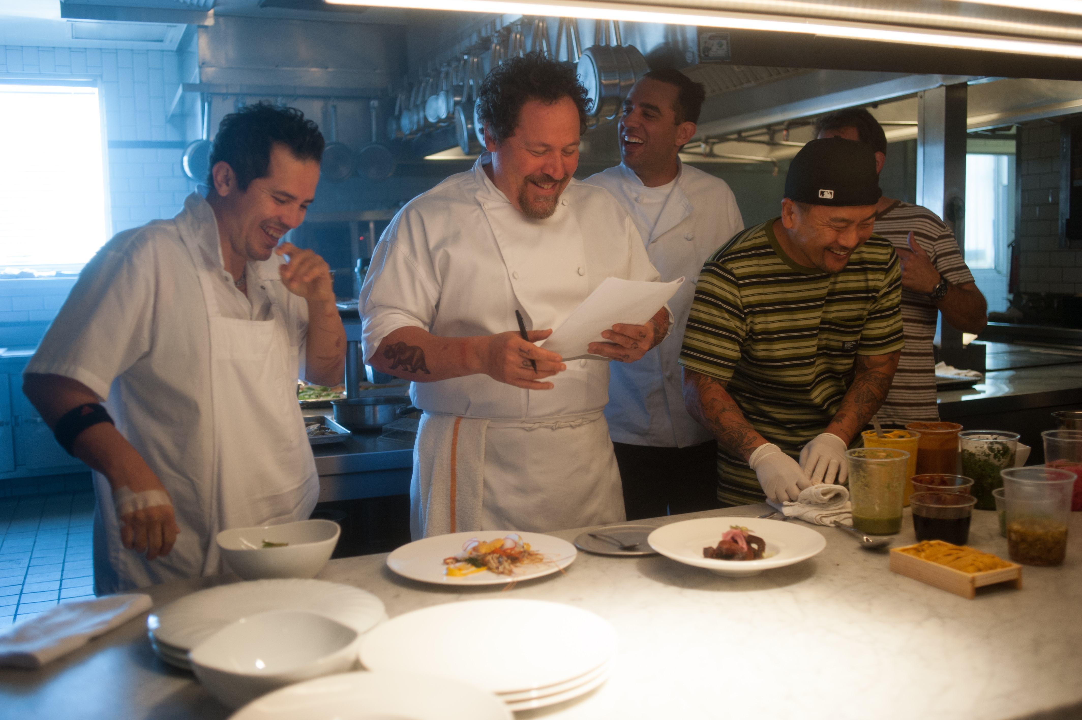 Jon Favreau directing and starring in Chef