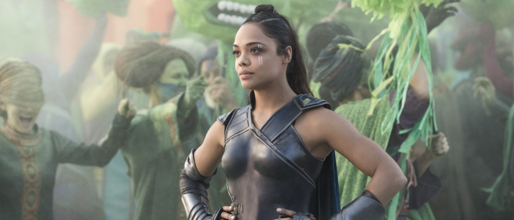 Marvel Studios Thor: Ragnarok..Valkyrie (Tessa Thompson)..Photo: Jasin Boland..©Marvel Studios 2017