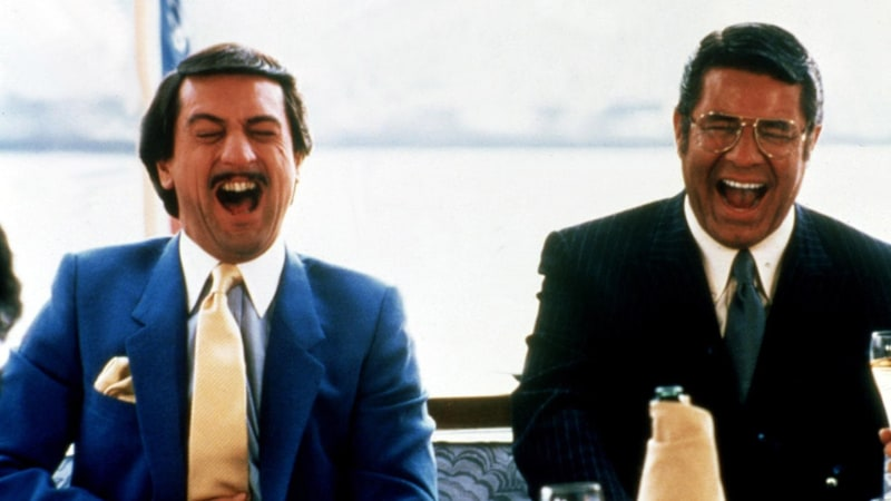 Robert De Niro and Jerry Lewis in King of Comedy