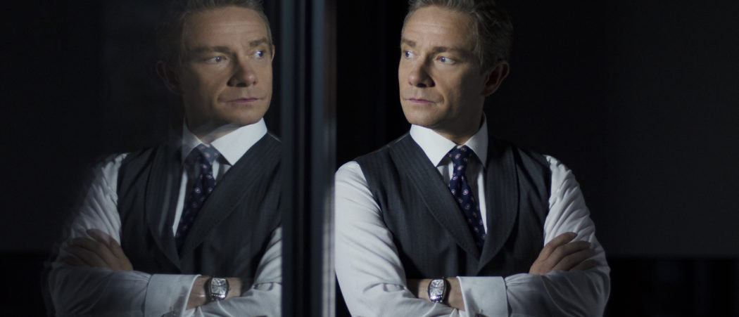 Martin Freeman as Mike Priddle in Ghost Stories