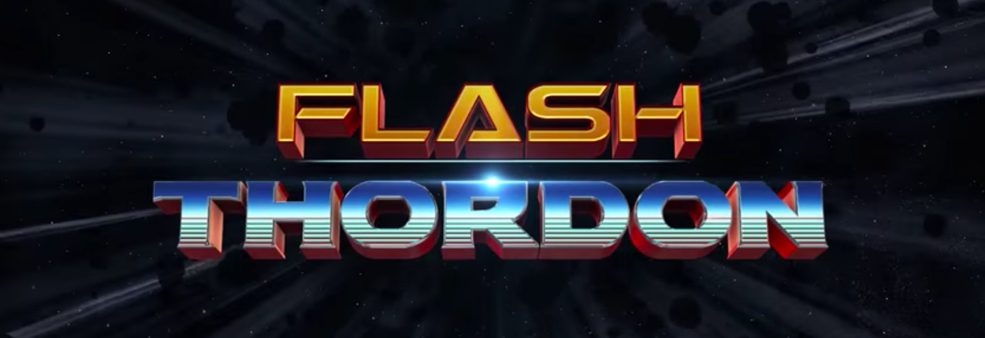 Flash Thordon! Marvel needs to turn this into a short.