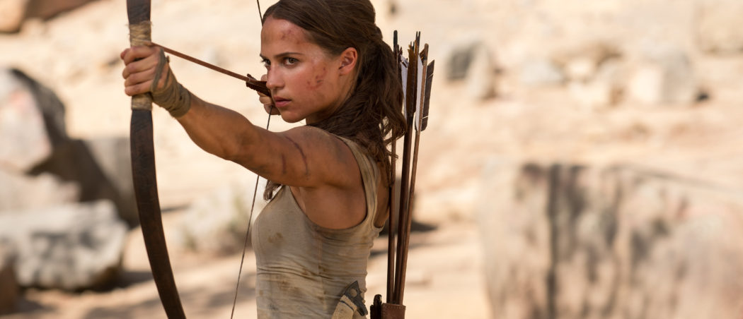Tomb Raider Lara Croft Alicia Vikander