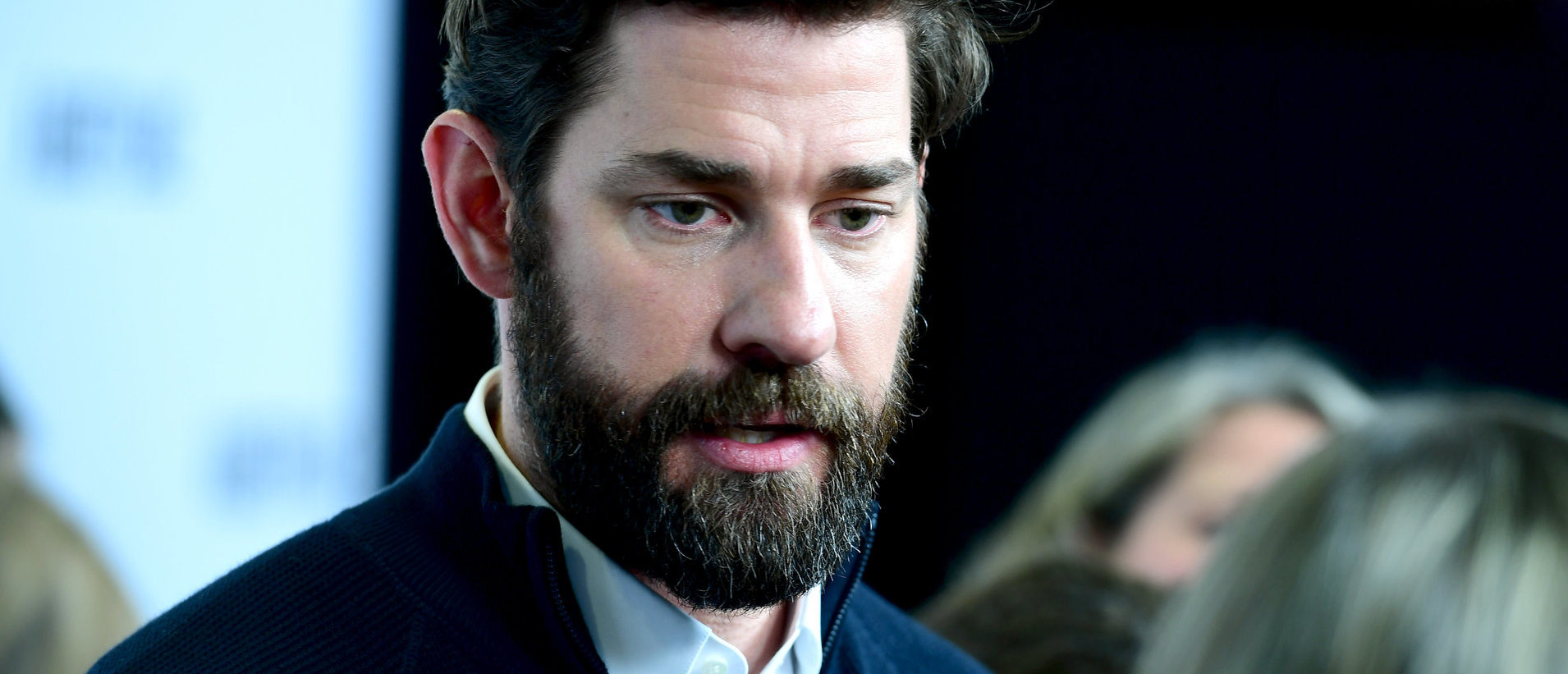John Krasinski attending the A Quiet Place VIP fan screening held at the Curzon Soho in London. (Photo by Ian West/PA Images via Getty Images)