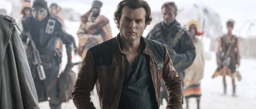 Alden Ehrenreich is Han Solo in SOLO The Mandalorian