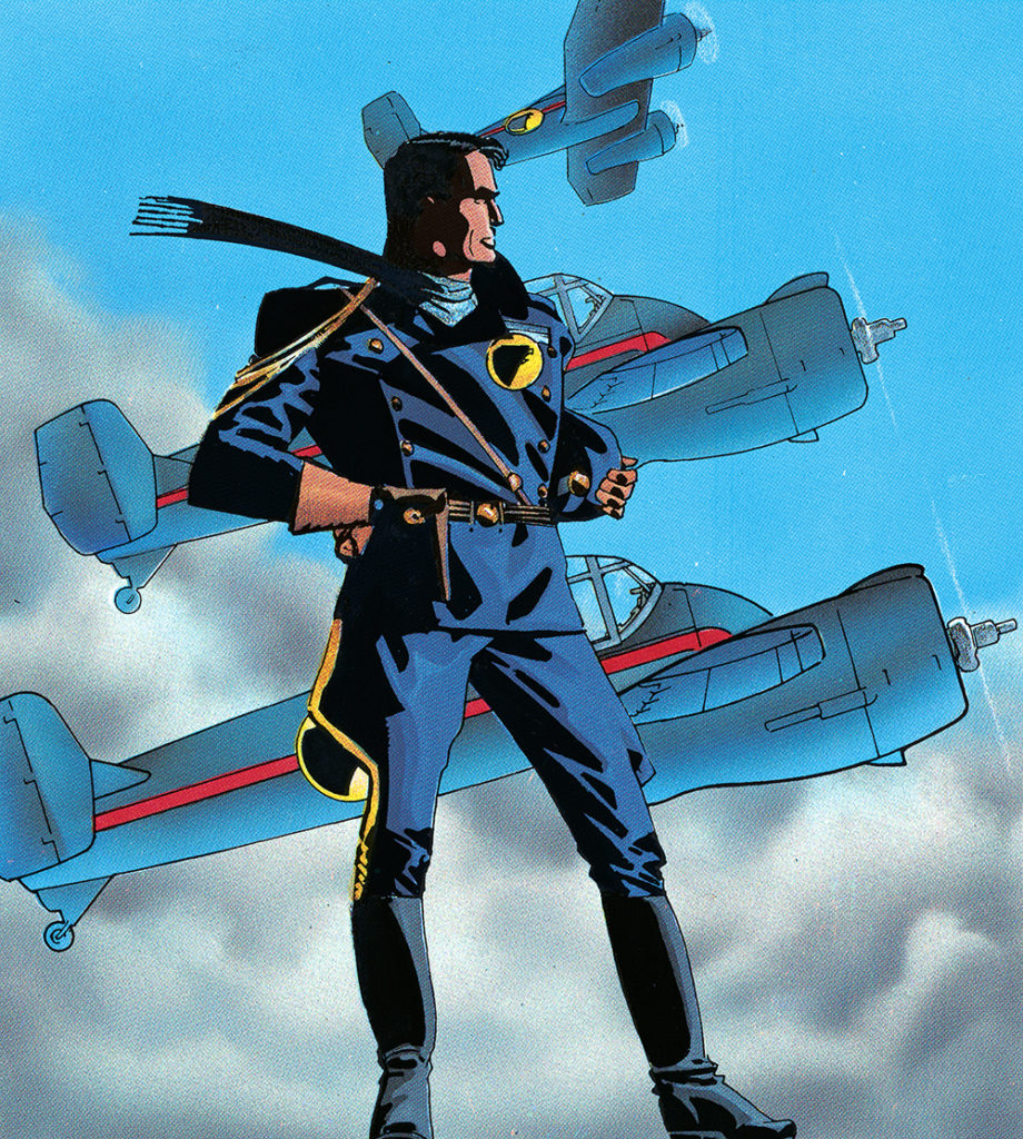 Blackhawk Image via DC Comics