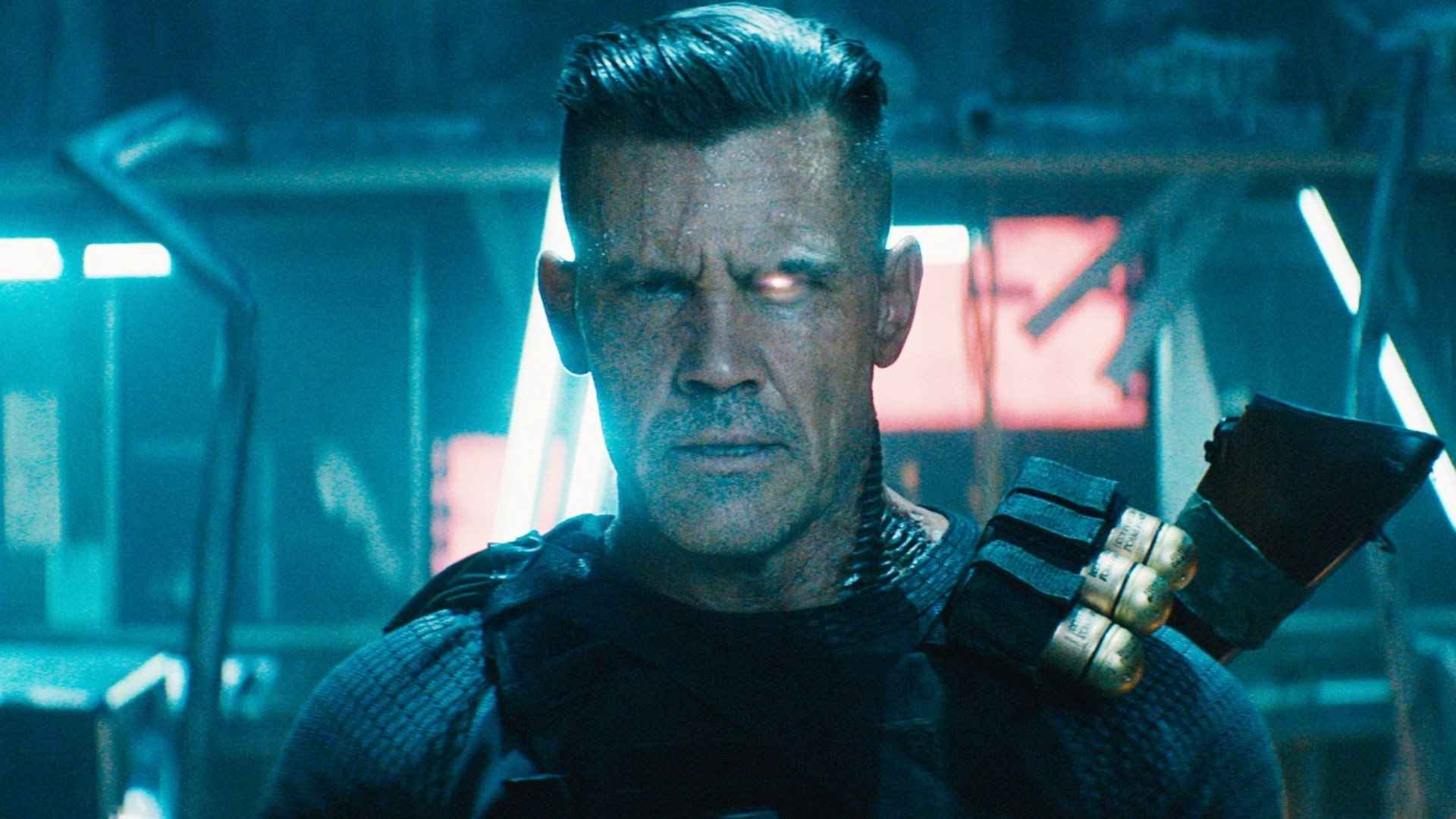 Is Josh Brolin better as Cable or Thanos? We will see.
