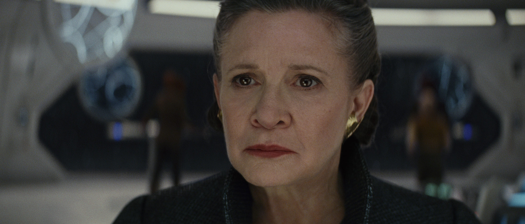 Star Wars: The Last Jedi..General Leia ..Photo: Lucasfilm Ltd. ..© 2017 Lucasfilm Ltd. All Rights Reserved.