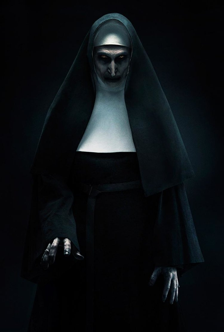 This Nun is bloody terrifying!