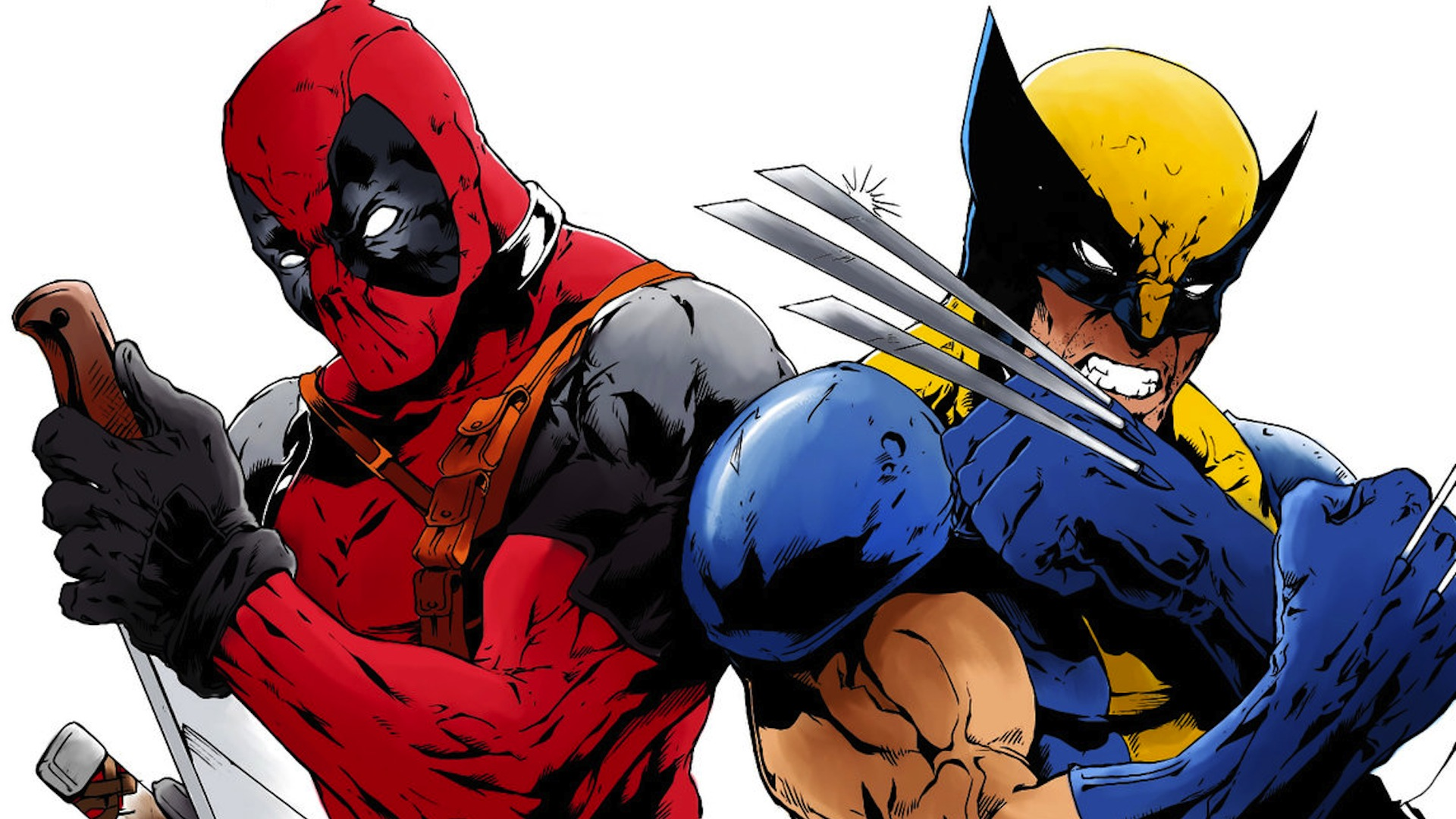 Deadpool vs. Wolverine. Now that's a film I would watch!