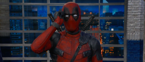 Deadpool Takes Over Stephen Colbert's Opening Monologue And Promotes Deadpool 2