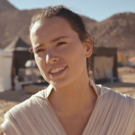 Star Wars: The Rise Of Skywalker's Behind-The-Scenes Set Video Teases An Emotion-Packed Finale