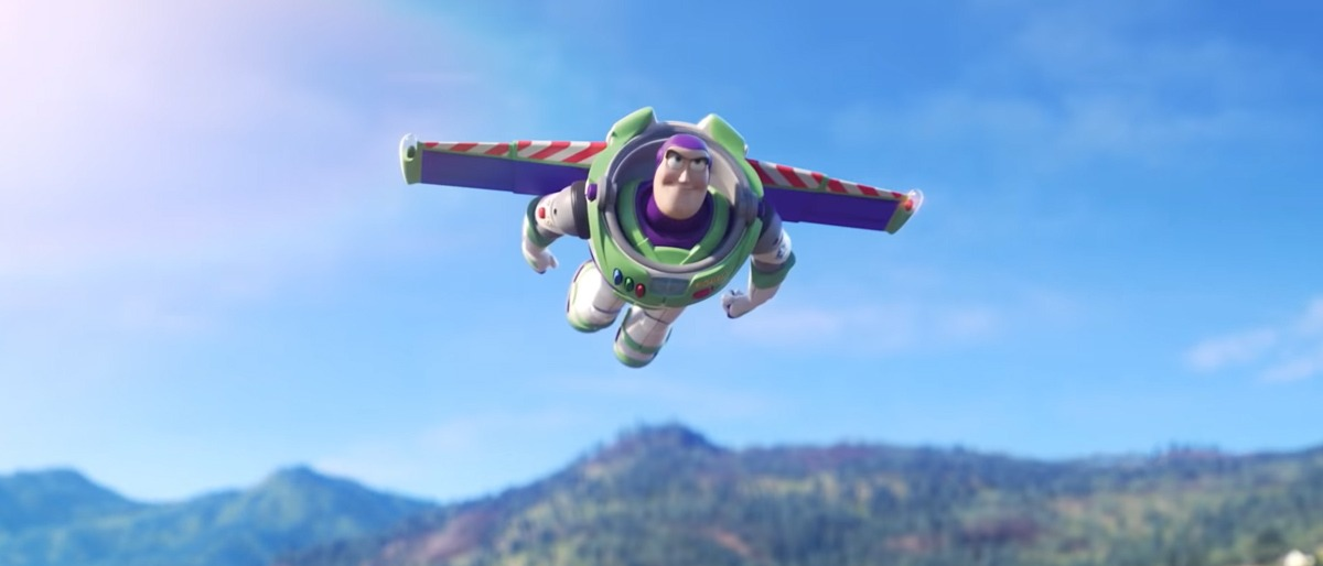 Buzz in Toy Story 4's trailer