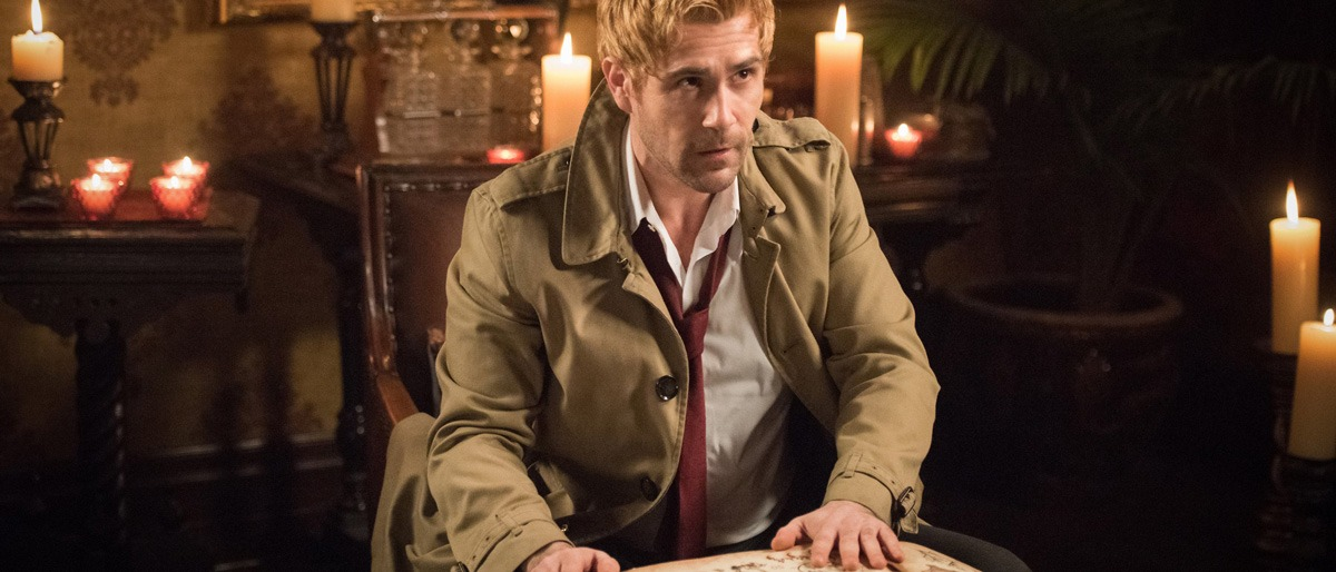Matt Ryan as John Constantine in Legends of Tomorrow Reboot