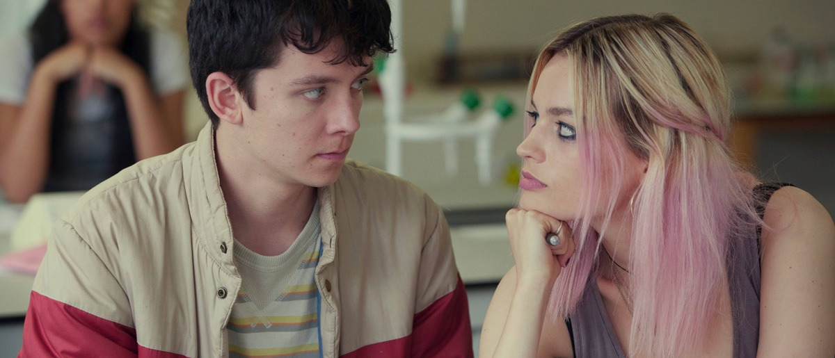 Asa Butterfield in Sex Education