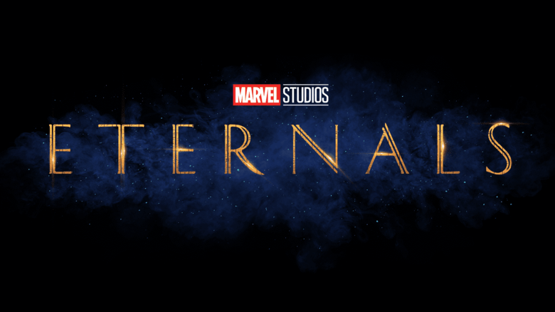 This is the logo for Marvel's The Eternals movie