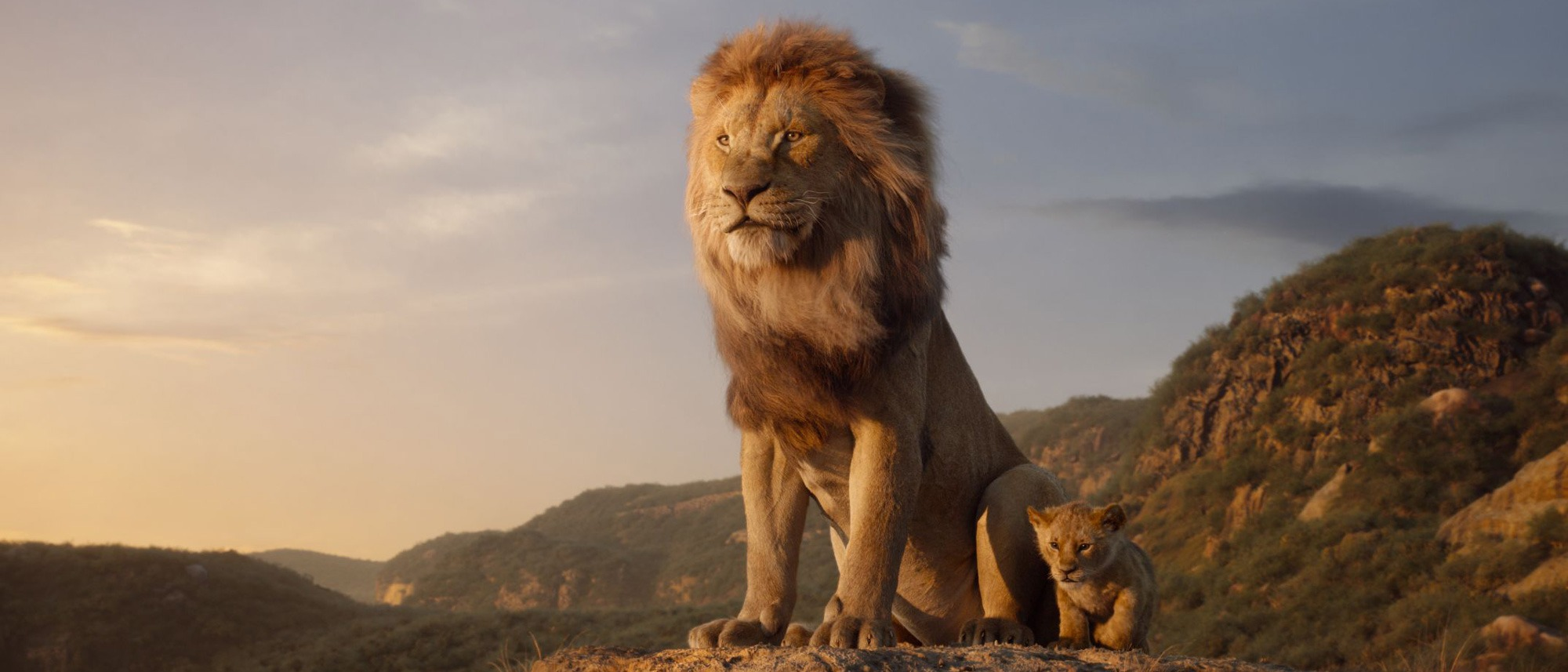Mufasa in The Lion King remake