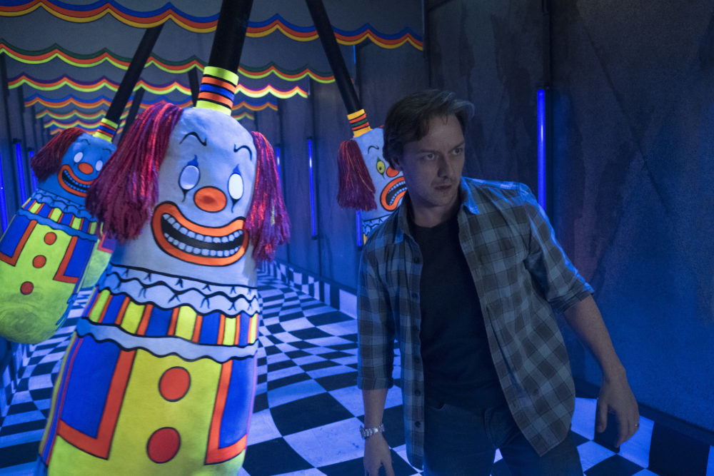 James McAvoy in Stephen King's It Chapter 2 worst films 2019